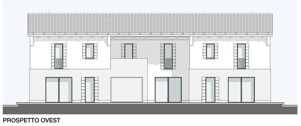 Porzione di TESTA di trivilla in fase di realizzazione dagli ottimi spazi abitativi. Si compone di ingresso su soggiorno con angolo cottura di 40 mq,