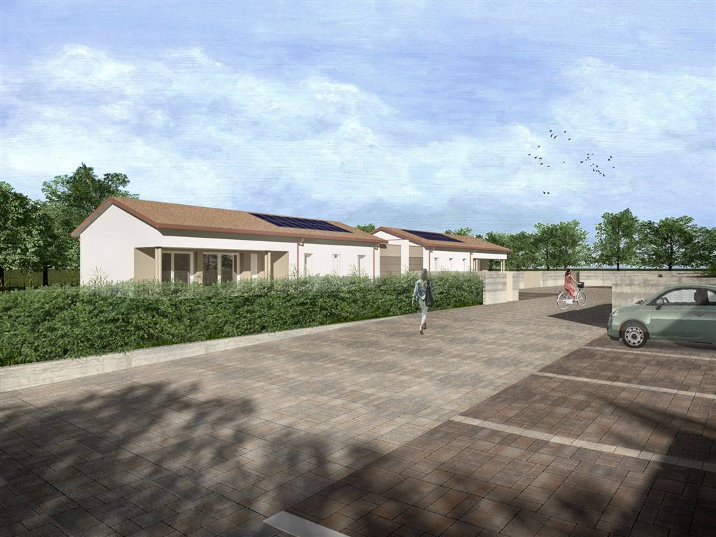 MAERNE di Martellago, proponiamo porzione di bivilla in fase di realizzo in prossimità del centro del paese. L'abitazione, caratterizzata dagli