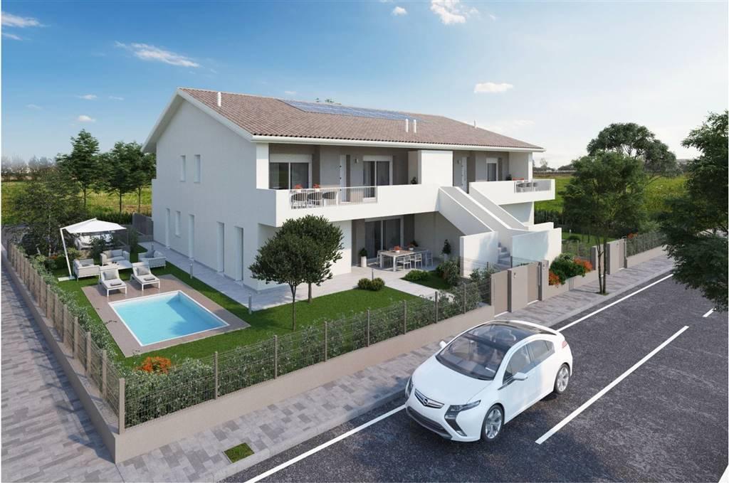 In prossimità del centro di MAERNE di Martellago, proponiamo palazzina di sole 4 unità abitative, tutti gli immobili con ingresso indipendente.