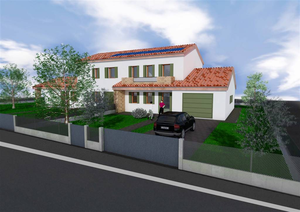 SALZANO, Duplex villa for sale of 130 Sq. mt., New construction, Energetic class: A4, placed at Ground on 2, composed by: 4 Rooms, Kitchenette, , 3