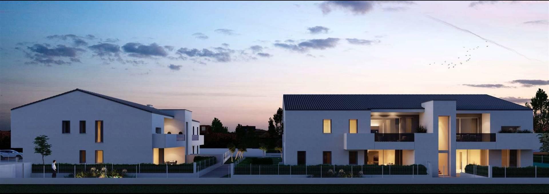 In pieno centro a SALZANO, proponiamo, di prossima realizzazione, appartamento dagli ottimi spazi abitativi, situato al piano terra con scoperto