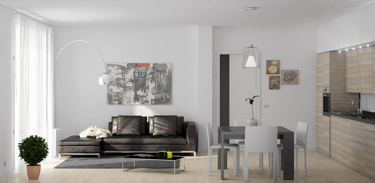 A pochissimi passi dal centro a SCORZE', proponiamo palazzina di sole 6 unità abitative in fase di realizzazione, appartamenti da 2 o 3 camere e