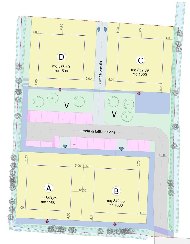 A pochissimi passi dal centro di PESEGGIA, frazione di Scorzè, proponiamo piccolo quartiere di sole 4 palazzine, ciascuna composta da 4 unità