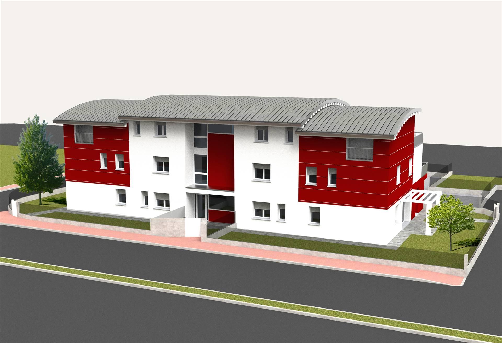 A soli 500 mt dal centro di SALZANO, proponiamo palazzina di sole 7 unità abitative in fase di costruzione. Appartamenti di ampia metratura, al piano