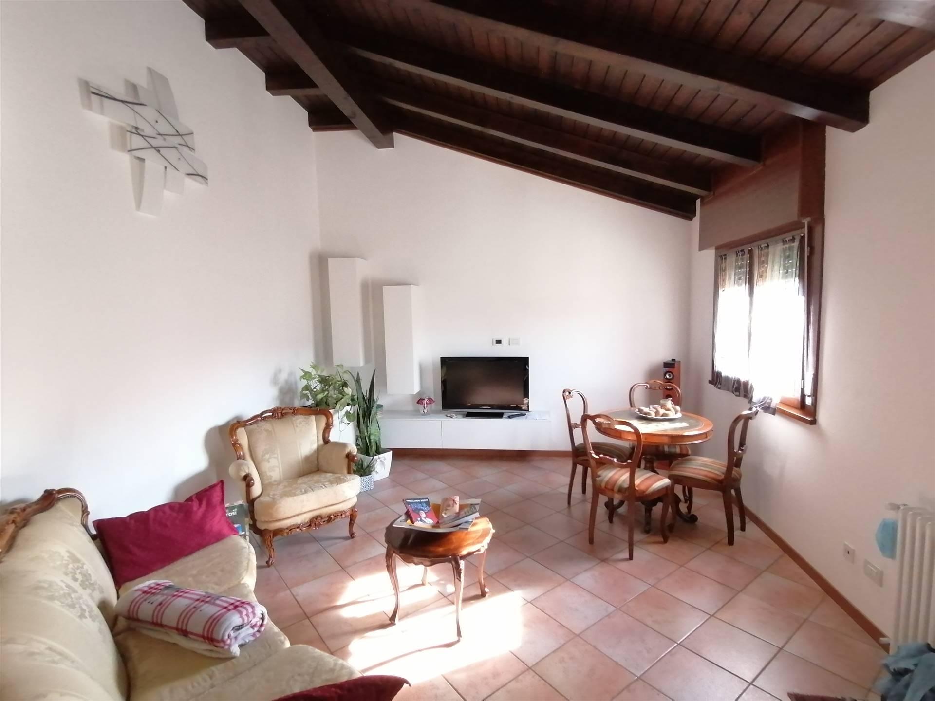 ROBEGANO, frazione di Salzano, bellissimo appartamento con ingresso indipendente a poche centinaia di metri dal centro del paese. L'immobile si compone di ingresso indipendente dal proprio giardino
