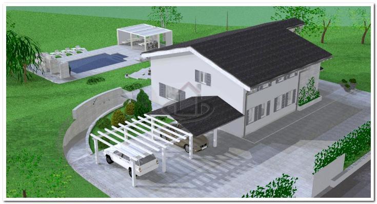 Villa, San Ruffino, Sarezzano, in nuova costruzione