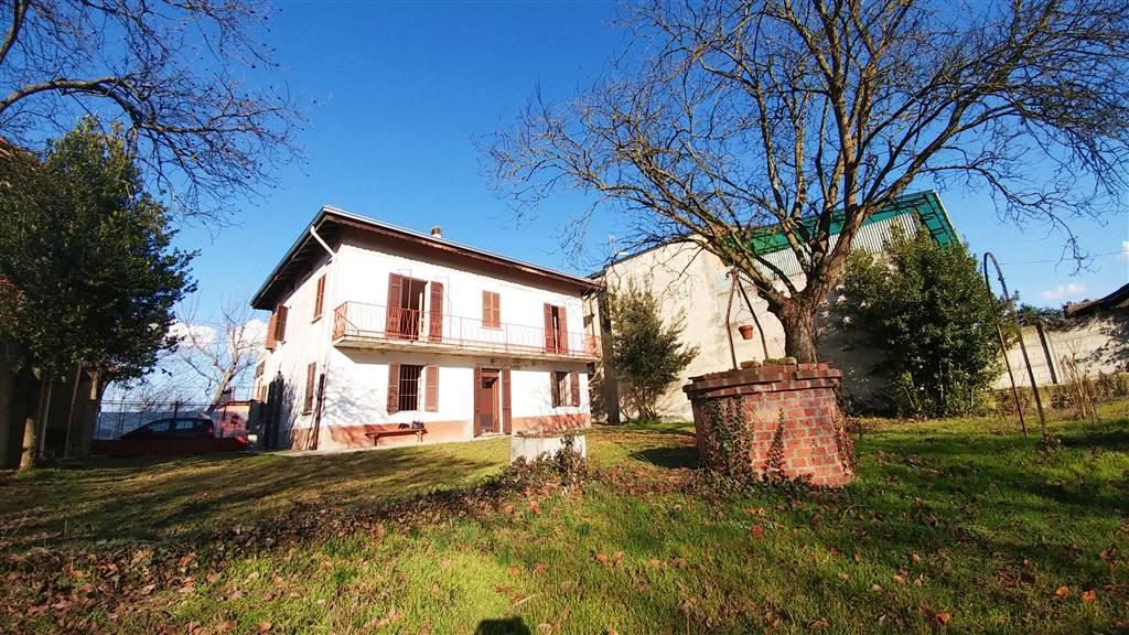 Casa singola, Guazzora, da ristrutturare