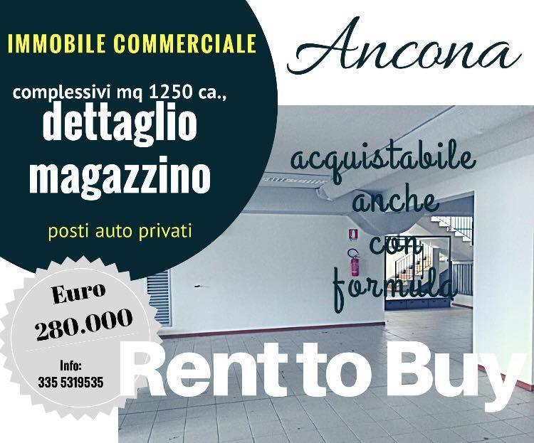 Locale commerciale, Ancona, abitabile