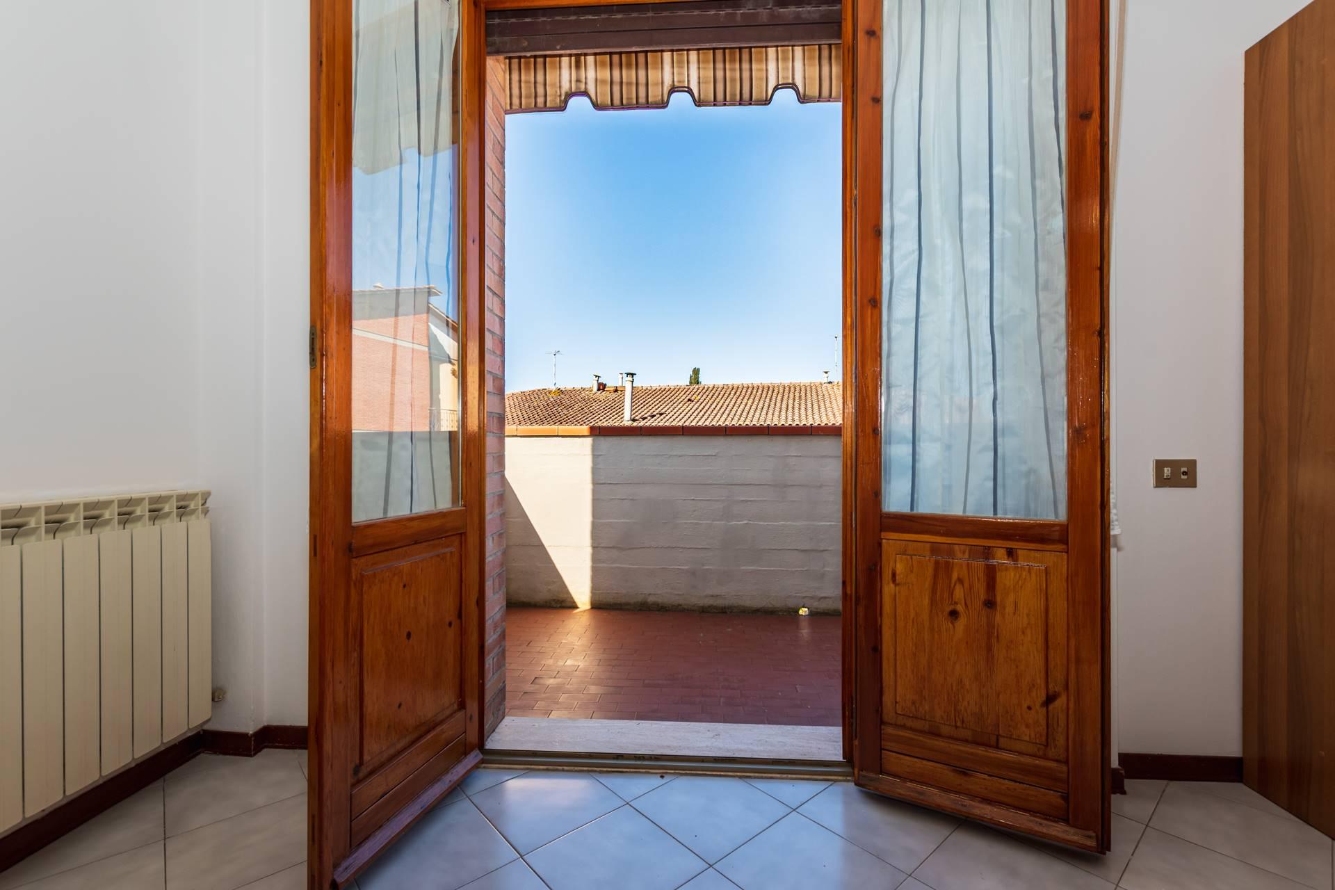 Acceso balcone soggiorno