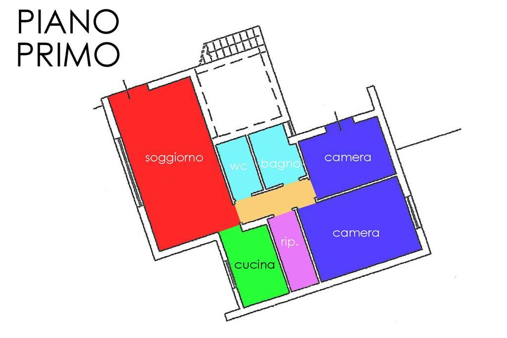 piantina-appartamento piano 1