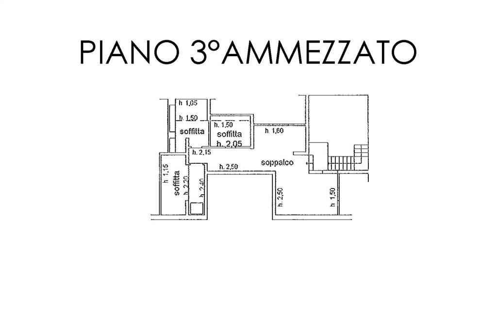 Piantina ammezzato