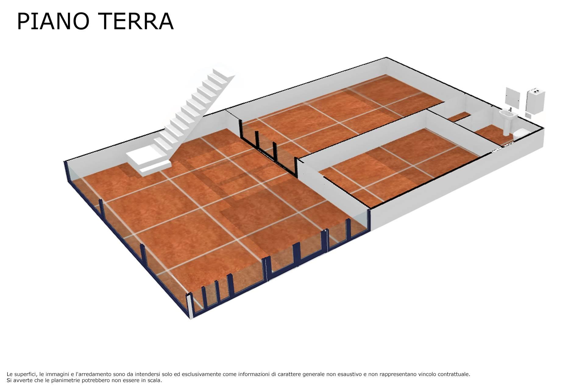 Planimetria piano terra 3D