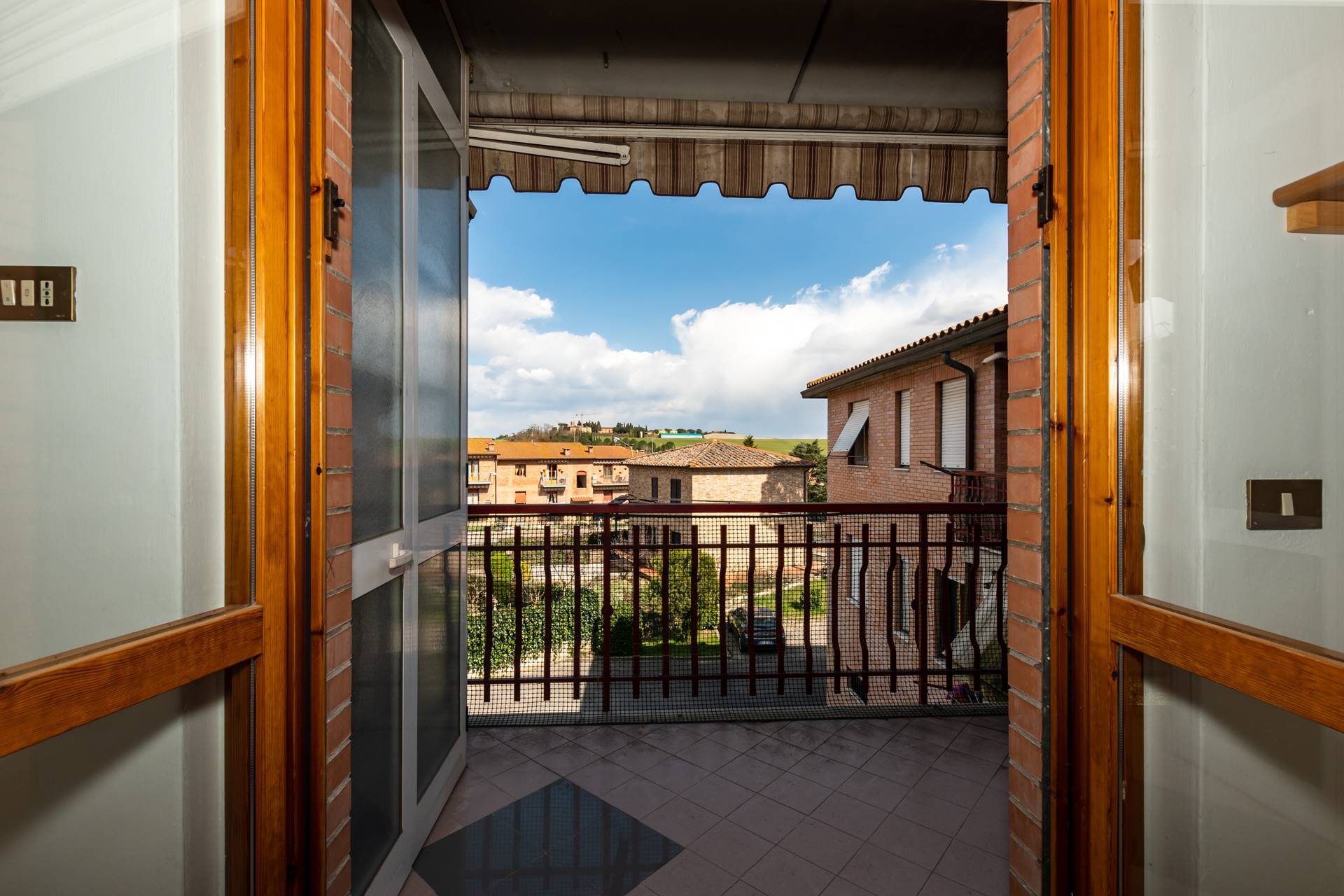 Acceso al balcone
