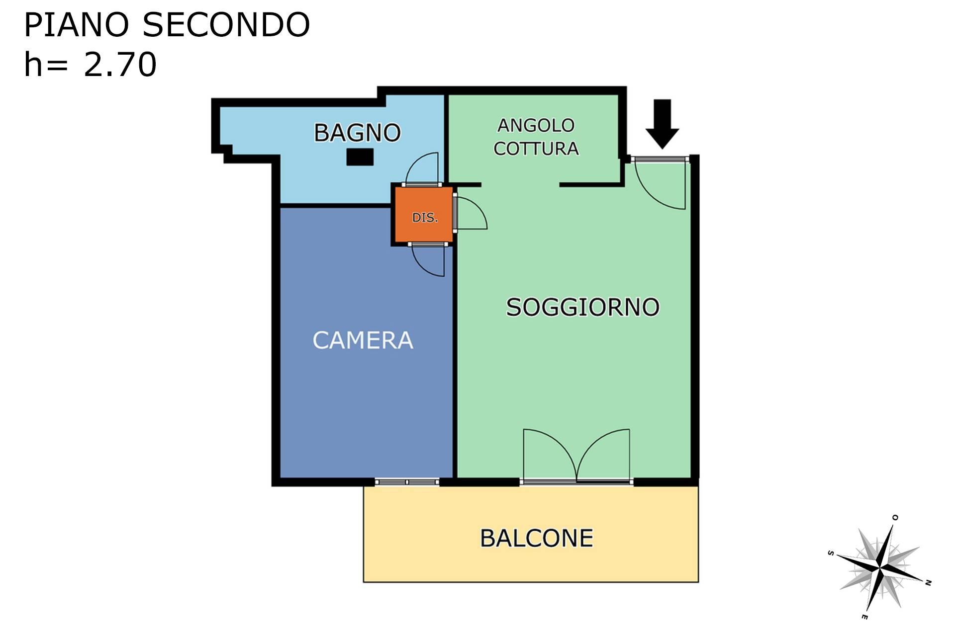 Planimetria appartamento 2D