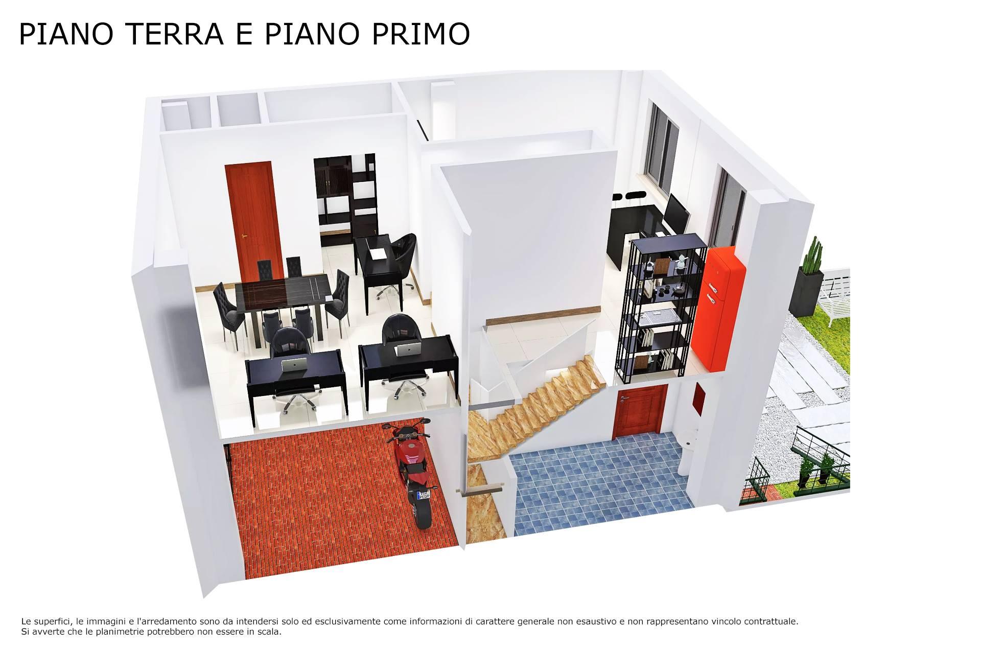 Planimetria piano primo 3D