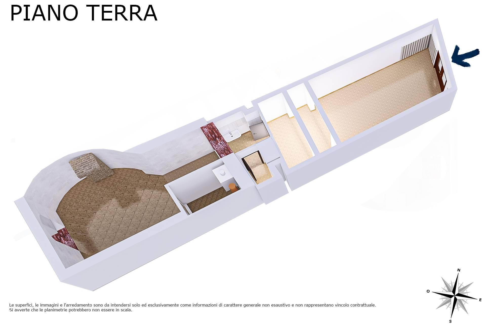 Planimetria 3D lato magazzino
