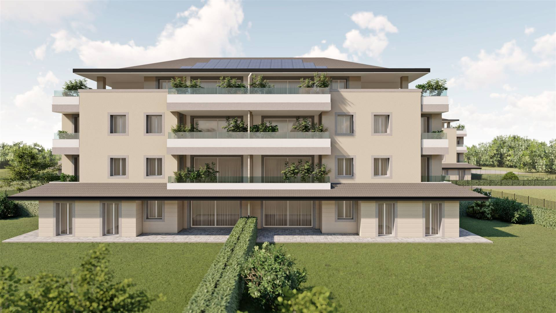 Attico / Mansarda in vendita a Pozzo d'Adda, 4 locali, prezzo € 329.000   PortaleAgenzieImmobiliari.it