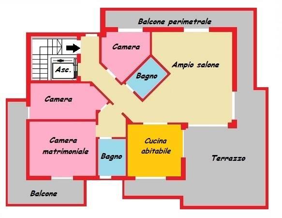 Attico / Mansarda in vendita a Carugate, 4 locali, zona Località: MILANO EST, prezzo € 380.000 | CambioCasa.it