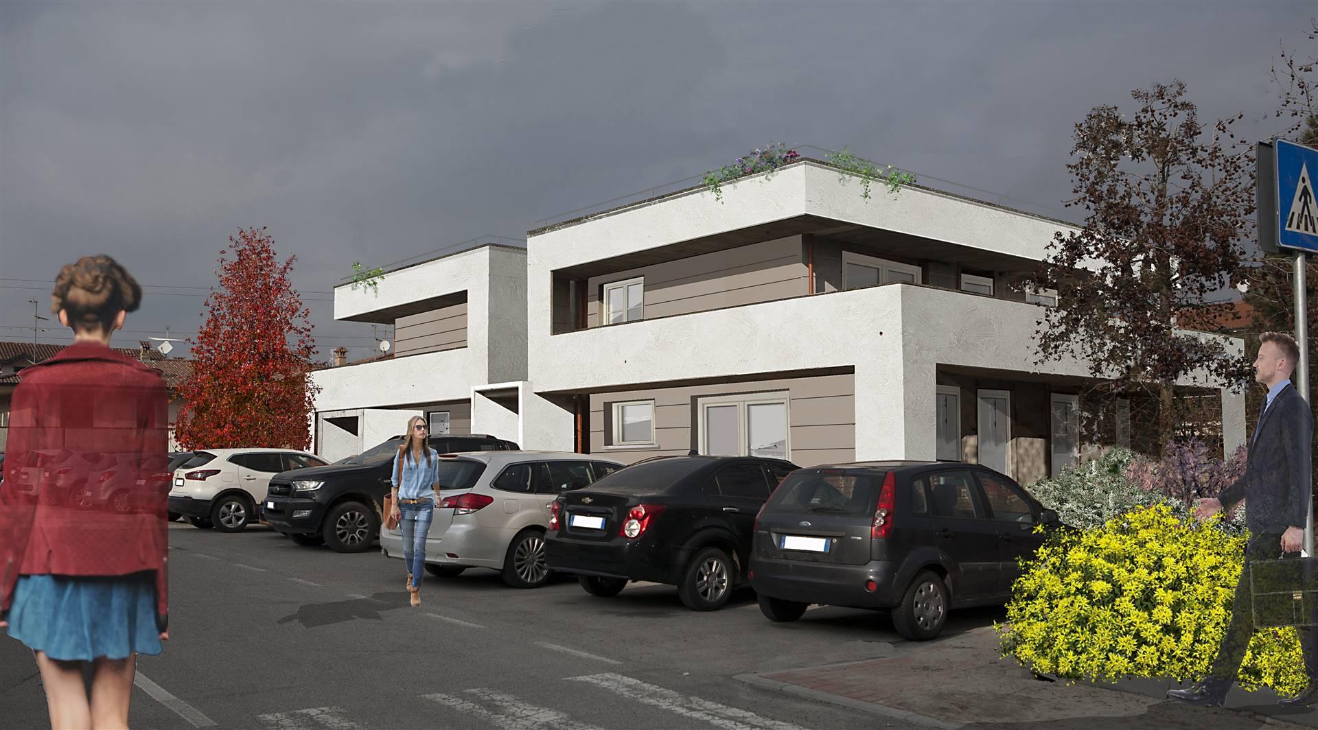 MILANO EST, TREZZANO ROSA, Wohnung zu verkaufen von 150 Qm, Neubau, Heizung Bodenheizung, Energie-klasse: A1, am boden Land auf 1, zusammengestellt