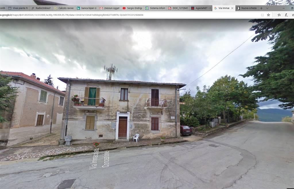 Appartamento in vendita a San Vincenzo Valle Roveto, 2 locali, zona Località: MORREA, prezzo € 28.000 | CambioCasa.it