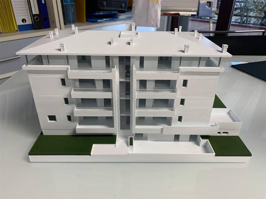 STELLE, MELZO, Appartamento in vendita di 114 Mq, Nuova costruzione, Riscaldamento a pavimento, Classe energetica: A4, posto al piano 1° su 4,