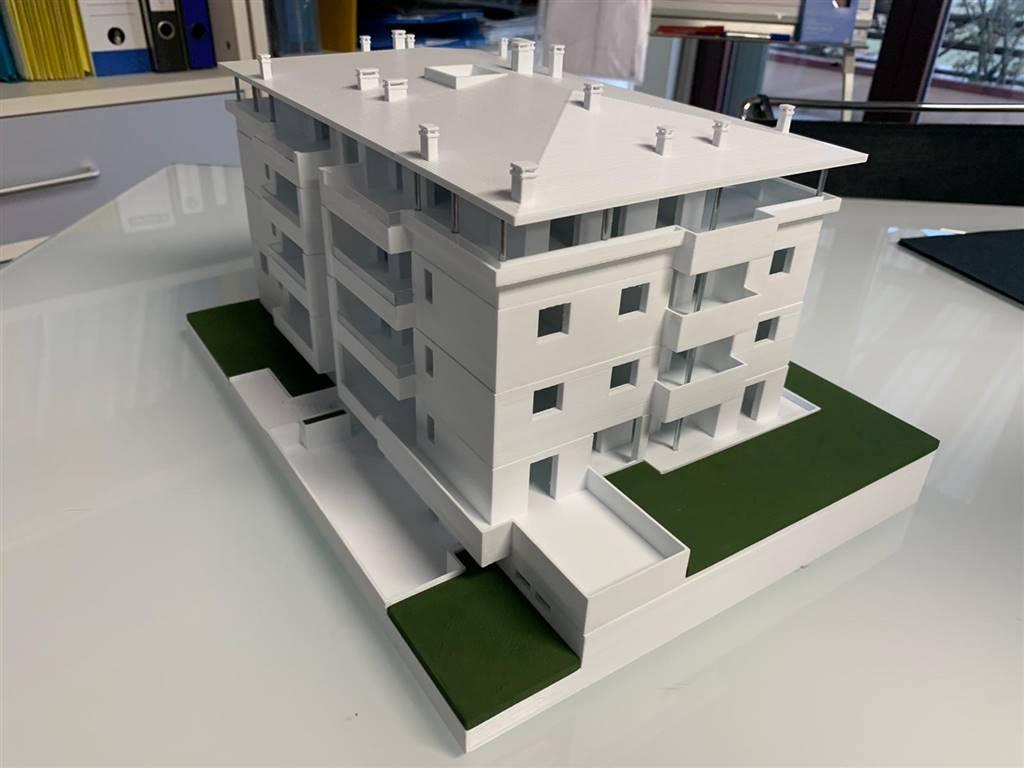 STAZIONE, MELZO, Appartamento in vendita di 127 Mq, Nuova costruzione, Riscaldamento a pavimento, Classe energetica: A4, posto al piano 4° su 4,