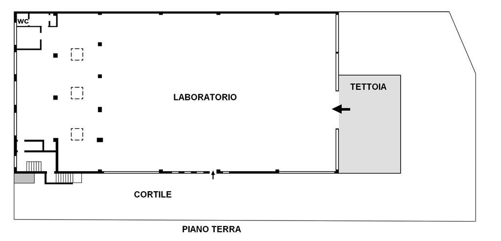 Proponiamo nel comune di Cologno Monzese nei pressi degli studi Mediaset, in zona collegata e di passaggio, a pochi km dallo svincolo autostradale,