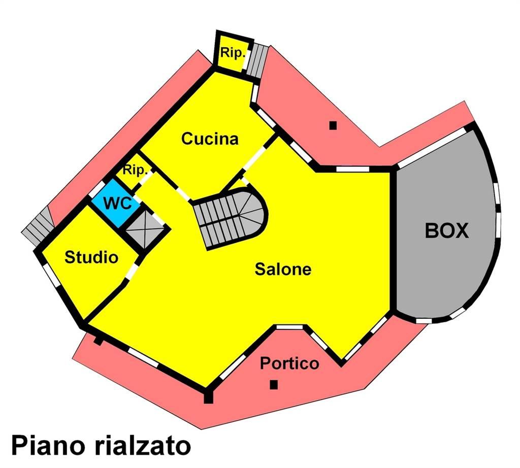 UBICAZIONE : Cassina de'Pecchi, nella tranquilla zona residenziale di Camporicco, circondata dal verde e da sole ville. TIPOLOGIA: ampia villa