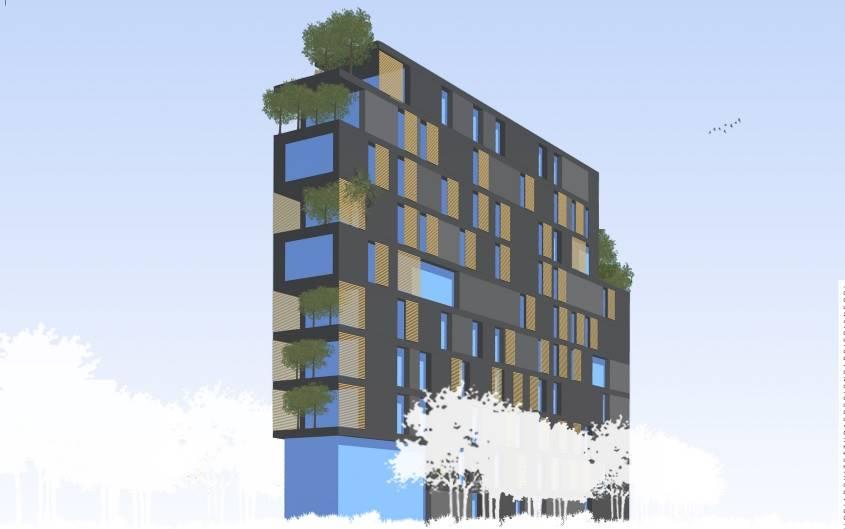 In Milano Via Palmanova fermata MM2 CIMIANO - area edificabile con progetto approvato per n° 8 appartamenti con balconi e terrazzi oltre a possibilità di giardino e box. € 650.000
