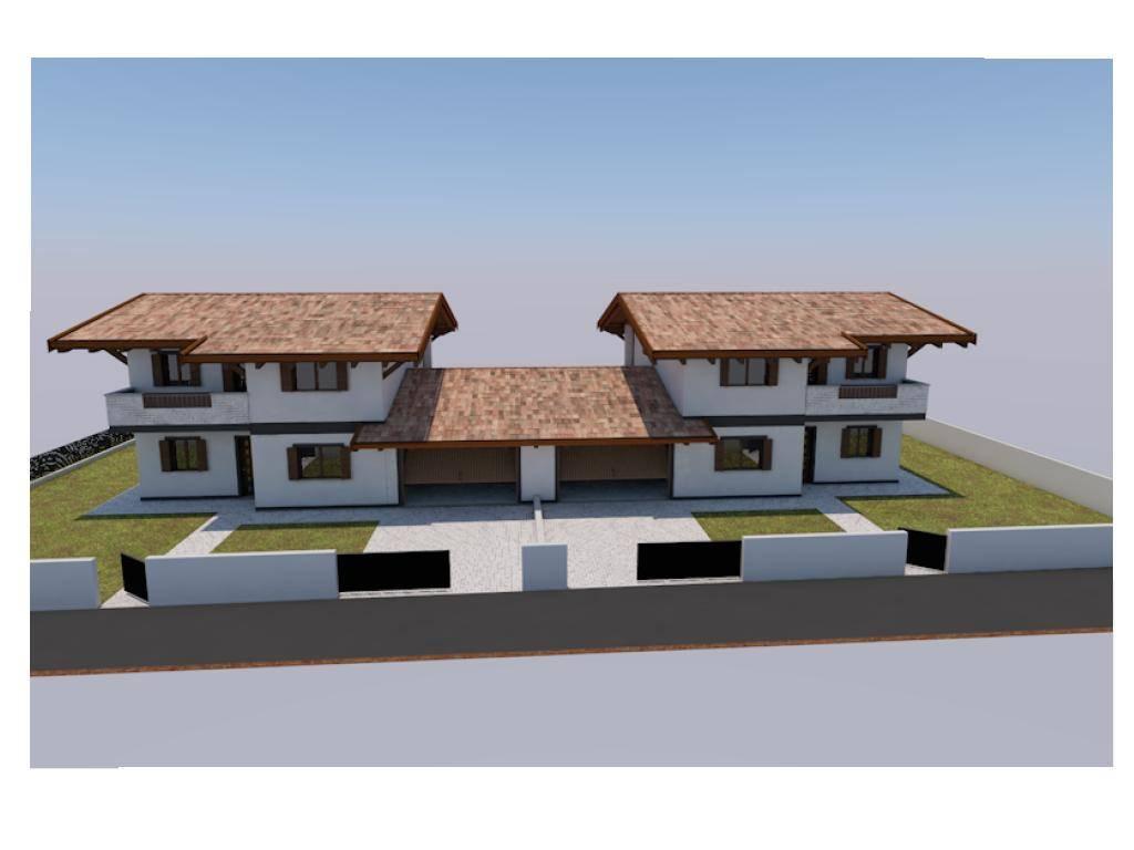 Bifamiliare, Tavagnacco, in nuova costruzione
