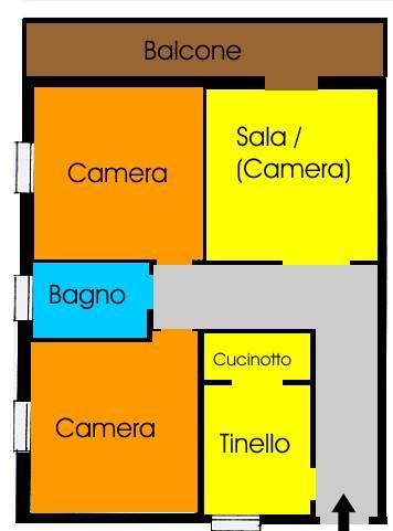 Quadrilocale, San Vincenzo, Galliera, abitabile