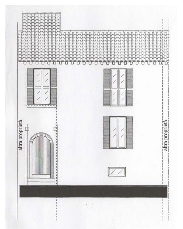 Terratetto, Centro Storico, Cesena, da ristrutturare