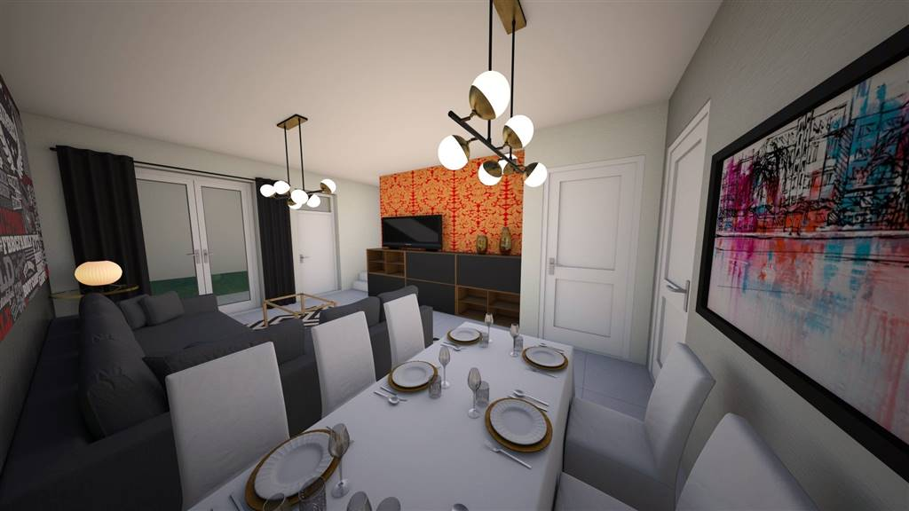 Villa a schiera, Case Finali, Cesena, in nuova costruzione