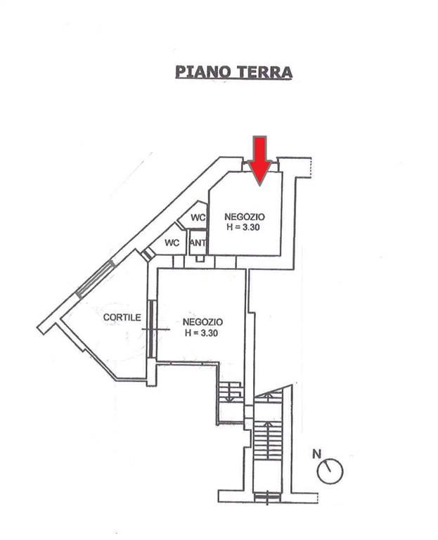 Negozio in Via Fratelli Rosselli, Centro Storico, Matera