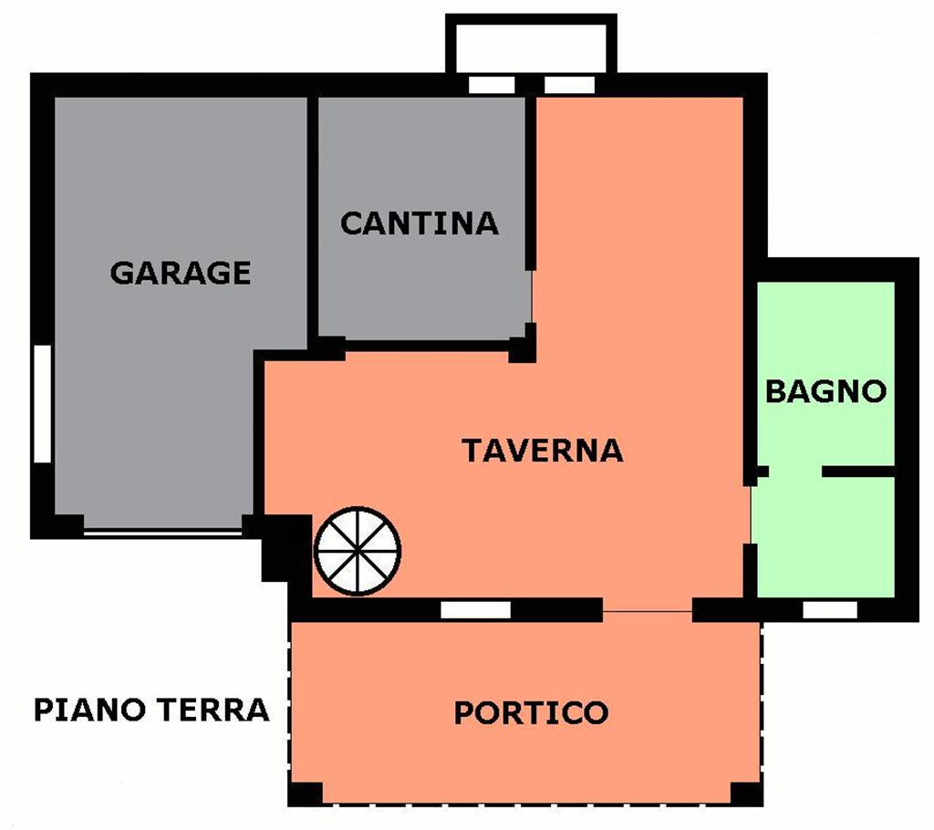 Vendita bifamiliare montemaggiore monte san pietro for Garage autonomo