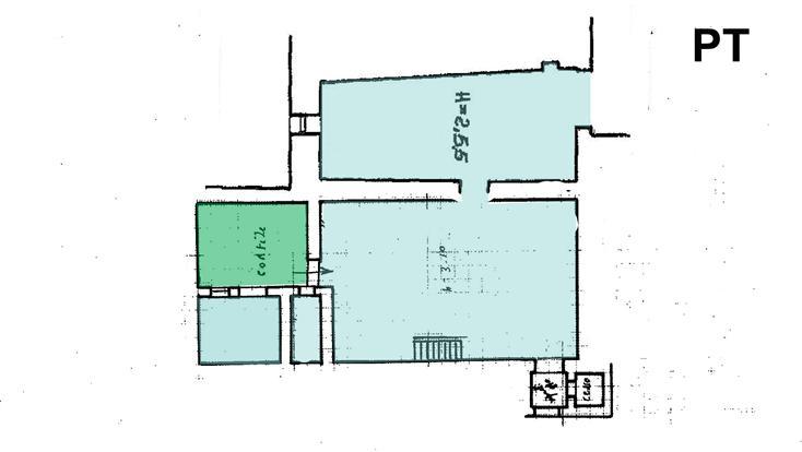 planimetria pt - Rif. MV218