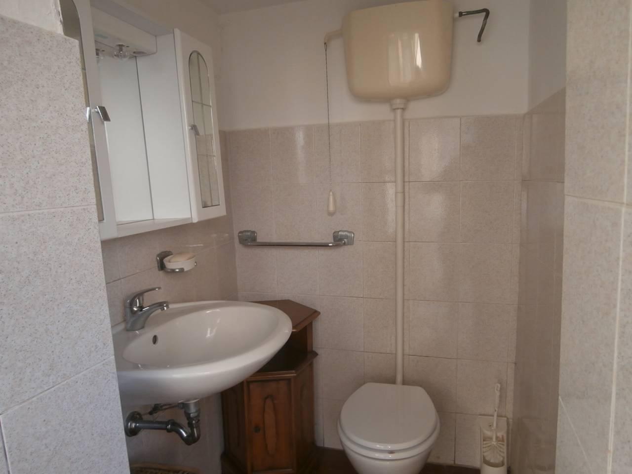 bagno nel rustico