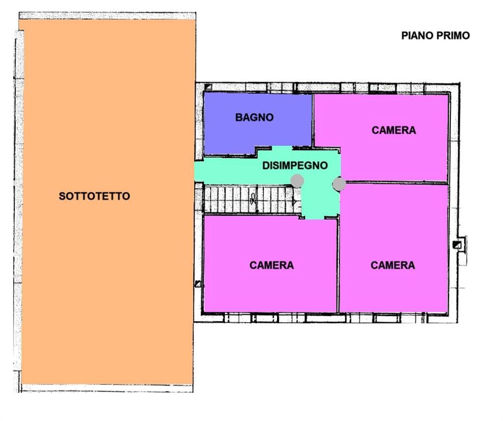 planimetria casa Salzano - Rif. 120MAS