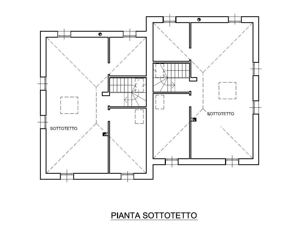 pianta nuove case Marghera Catene Villabona