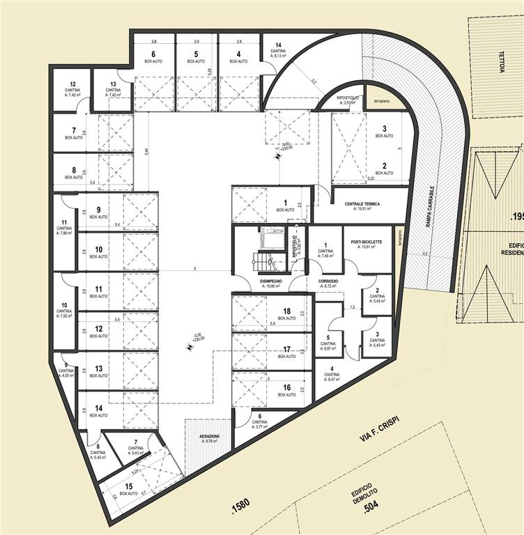 piano garage - Rif. 0631