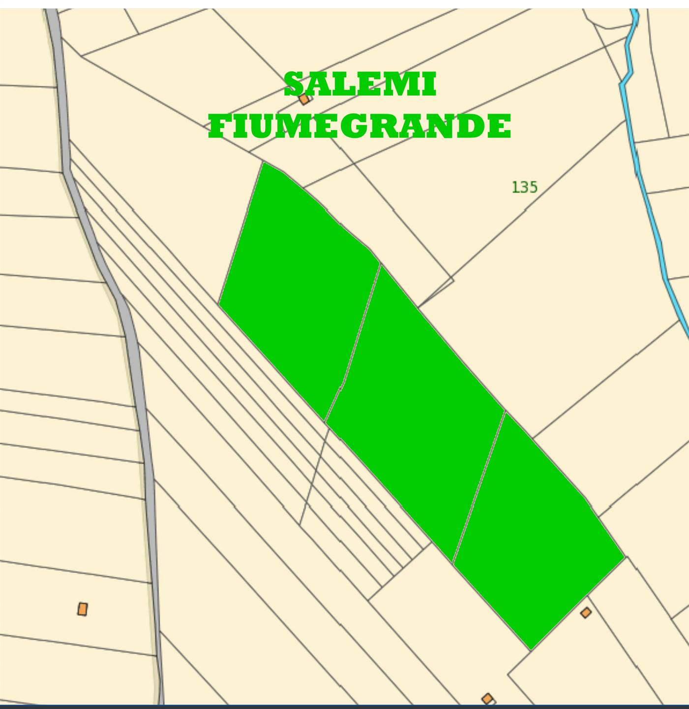 Farming plot of land in SALEMI