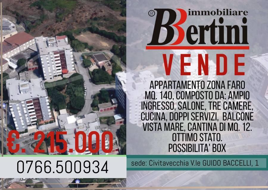 Zona Faro adiacente Scuole, Chiesa, Supermercato, farmacia. Vendiamo Appartamento mq. 140, Esente da Usi Civici, piano intermedio, composto da: ampio