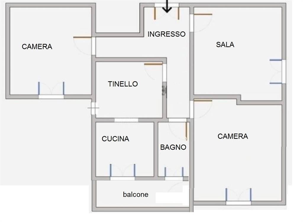 CIVITAVECCHIA, Appartamento in vendita di 104 Mq, Buone condizioni, Riscaldamento Autonomo, Classe energetica: G, Epi: 185,86 kwh/m2 anno, posto al