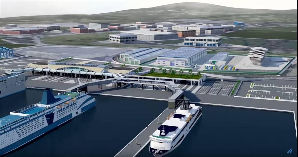 Proponiamo terreni edificabili e capannoni per logistica nella zona industriale di Civitavecchia sull'asse viario che collega il porto con la zona
