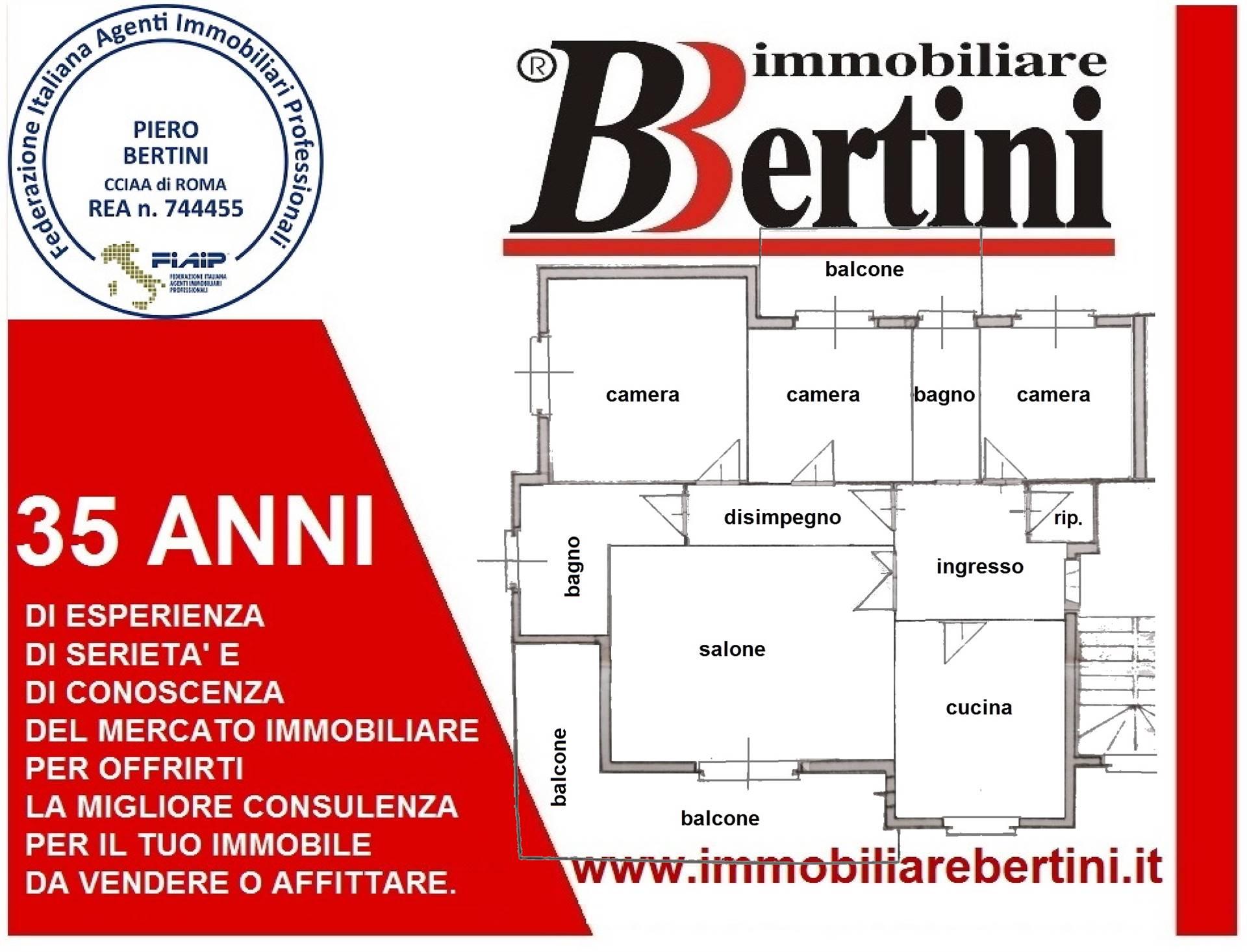 Appartamento centralissimo, luminoso, adiacente Parco Antonelli, ampia metratura, composto ingresso, 3 camere, salone, ampia cucina, 2 bagni, ampi