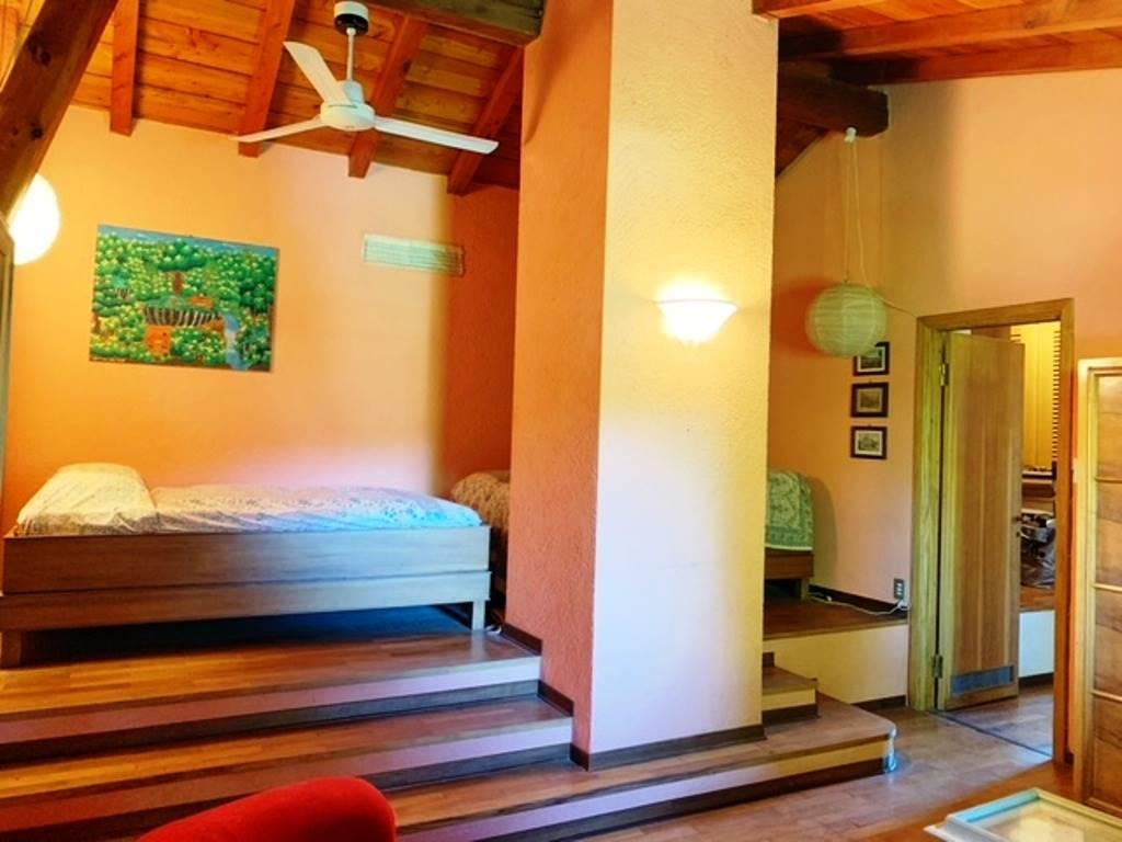 Camera da letto piano mansardato