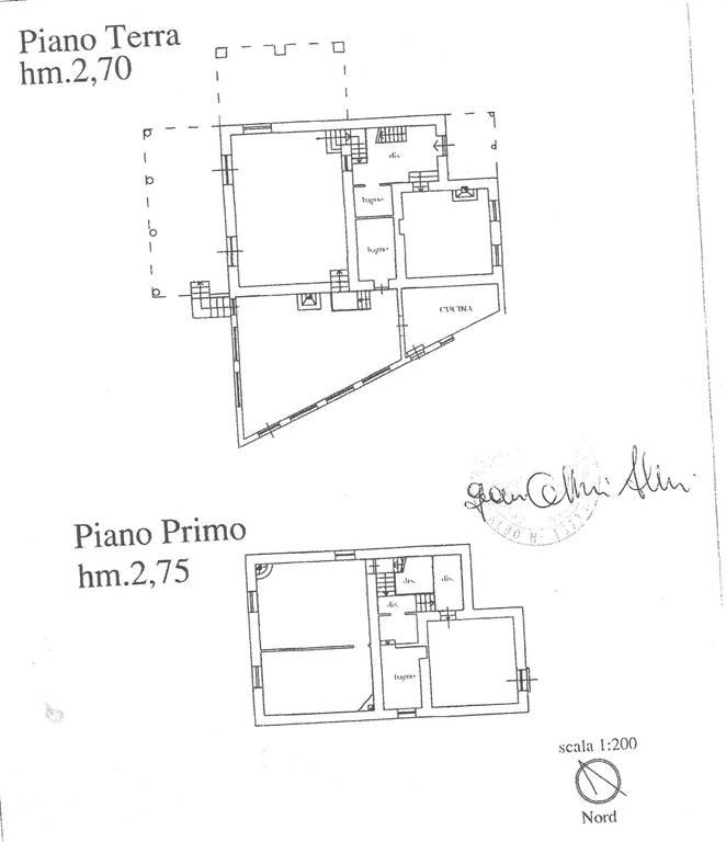 planimetria casa - Rif. 699