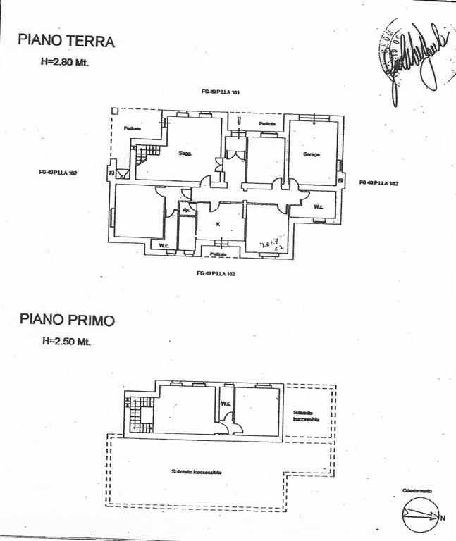 planimetria - Rif. 962