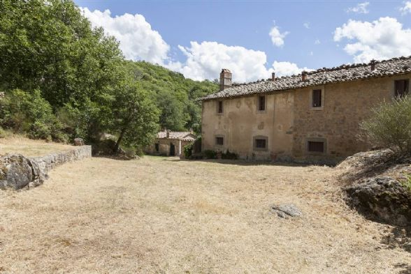 Rustico casale in Località Borgo Maestro, Castiglione D'orcia