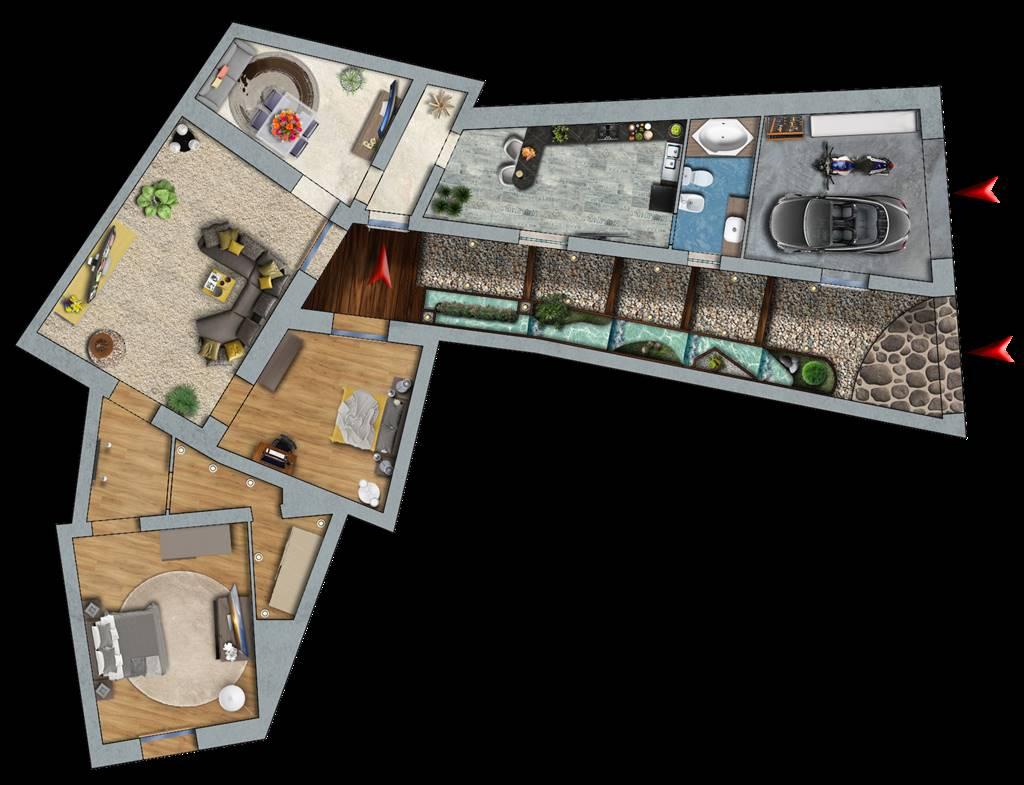 Appartamento indipendente in Via Rocche 35, Paterno'